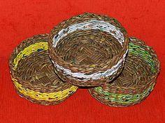 МК по плетению корзинки с плетеным круглым дном | Ярмарка Мастеров - ручная работа, handmade