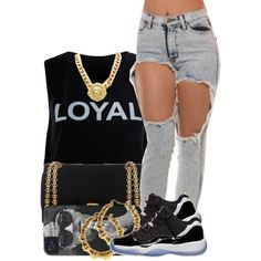 These Hoes Aint Loyal, created by mickey-d-that-trill-bishh on Polyvore