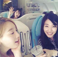 SNSD TaeYeon, Tiffany and SeoHyun
