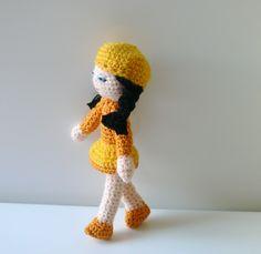 Amigurumi crochet doll  Ingrid  http://anekka-amigurumilandia.blogspot.com.es/