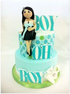 Boy oh Boy Shower Cake
