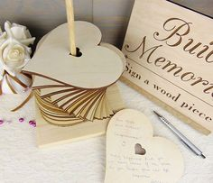 Ask your MC to tell the guests - Build Memories Wedding Guest Book, Custom Wood Wedding Decoration, Engraved Wedding Accessories, Heart Wedding Guestbook Alternative, Tower - Eleturtle Wedding Book, Diy Wedding, Wedding Favors, Wedding Invitations, Wedding Day, Trendy Wedding, Wedding Photos, Wedding Dresses For Guests, Wedding Guest Gifts