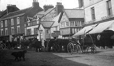 Newgate Street,   Morpeth,Northumberland-The shop with the awning is now T G Allans