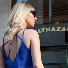 Blusa Rio - detalhe no decote das costas :)