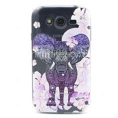 USD $ 3.99 - modello di fiori elefante sollievo TPU morbida per Samsung Galaxy Grand i9060 neo grande i9080 / i9082 / galaxy