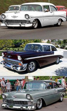 Rat Rods, Chevrolet Bel Air, 1955 Chevrolet, Classic Trucks, Classic Cars, Auto Retro, Vw Vintage, Sweet Cars, Us Cars