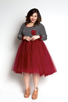 I know I know! Tutus are everywhere and you are done with them, but I want this! Loey Lane High/Low Tutu - Burgundy (Sizes 1X - 6X) - Society+ - Society Plus