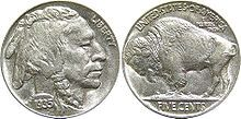 There is a buffalo on this old nickle.  The buffalo is named Noah.