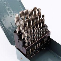 1mm-13mm 25 stuks/set Hss Boren Bit Draaibank Spiraalboor Set