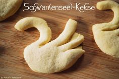 Patce's Patisserie: Pimp your Butterkeks! Swan Cookies // Schwanenkekse
