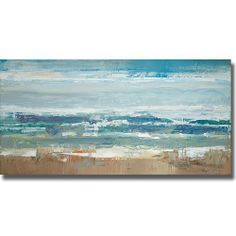 Pastel Waves by Peter Colbert Premium Stretched Canvas (Ready to Hang) by Artistic Home Gallery, http://www.amazon.com/dp/B005UGV7QU/ref=cm_sw_r_pi_dp_LVvOrb1A4K1B8
