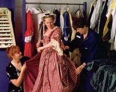 Everyone involved in historic clothing agrees, the difference between costume and historic clothing is in the details. A theater costume can get away with synthetic fabric, zippers, and less accuracy because it isn't meant to be seen up close.