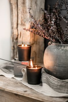 It's candle season and time to get cozy. Triple scented, hand poured candles from Linnea's Lights. Made in America by artisans.