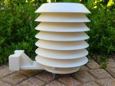 Hey guys, these are the 3d printed parts for our project Cocito Weather Station. Micromet did an awesome job designing his radiation shield. Here there are some changes to adapt it to our project. You can find more info on the Hackaday project page https://hackaday.io/project/11278-cocito-weather-station. THIS IS A WORK IN PROGRESS, SO PLEASE ASK US IF YOU HAVE ANY DUBTS, TO AVOID WASTING FILAMENT AND TIME EDIT 20/07/2016: modified vertical mount to perfectly fit...