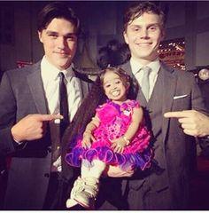 Evan looks like a little cupcake ☺️☺️