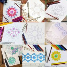 Learn online! Enroll for life time access to Drawing Islamic Geometric Patterns…