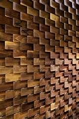 Wooden feature wall | timber |