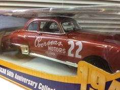 NIB  NAPA 50th Anniversary Red Byron 1949 NASCAR Olds 1/24th Strickly Stock #Action #Oldsmobile