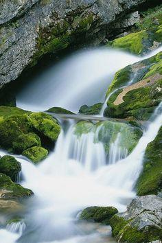 Río Soca en Eslovenia. Foto: Corbis