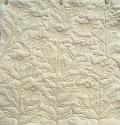 Lizzie Lenard Vintage Sewing: Free Motion Rudbeckias