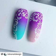 Check it out. Dream Nails, Love Nails, Pink Nails, Nail Polish Designs, Nail Art Designs, Nail Art Arabesque, Sharpie Nail Art, Bella Nails, Pretty Nail Art
