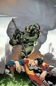 Lex Luthor vs. Superman - Ryan Sook