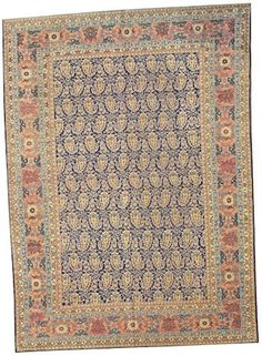 Tabriz carpet  Northwest Persia,  circa 1910  size approximately 9ft. 1in. x 12ft. 8in.