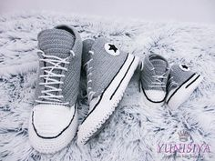 Crochet Converse Crochet adult shoes Crochet Shoes Crochet Sneakers Converse shoes Converse slippers House shoes House slippers men slippers
