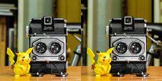 Duplex Super 120 Stereo Camera, Usb Flash Drive, Usb Drive