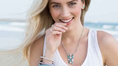 By The Shore - colors of the ocean beautiful Swarovski Crystal Jewerly at affordable prices Alison Manaher's Personal Website