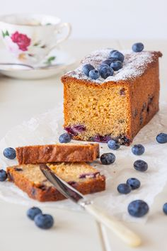 Blueberry and Earl Grey Tea Cake recipe | DeliciousEveryday.com