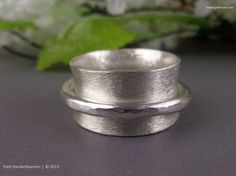 Sterling Silver Spinner Ring | Handcrafted Jewelry by Patti Vanderbloemen