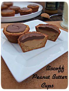 Biscoff Peanut Butter Cups #biscoffspreadslove @Biscoff Cookies Cookies Cookies