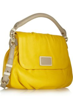 Marc by Marc Jacobs - Classic Q Lil Ukita textured-leather shoulder bag ad53f2e166