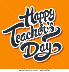 Find Happy Teachers Day Hand Drawn Lettering stock images in HD and millions of other royalty-free stock photos, illustrations and vectors in the Shutterstock collection. Thousands of new, high-quality pictures added every day. Teachers Day Card Message, Teachers Day Status, Teachers Day Card Design, Teachers Day Photos, Teachers Day Cake, Teachers Day Drawing, Happy Teachers Day Wishes, Greeting Cards For Teachers, Teachers Day Greetings