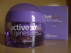 Testei: Active genes 30+ Dia - O Boticário
