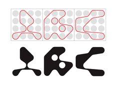 inspired by Armin Hofmann Web Design, Retro Design, Logo Design, Design Graphique, Art Graphique, Typography Poster, Graphic Design Typography, Business Paper, Schrift Design