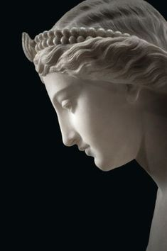 """marmarinos: """"Detail of a neoclassical statue of a naiad or nymph by Giovanni Battista Lombardi, dated to Marble. Source: Sotheby's. Sculpture Romaine, Statue Antique, Antique Art, Greek Statues, Buddha Statues, Stone Statues, Angel Statues, Italian Statues, Roman Sculpture"""