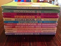 Vintage Lot 11 Sullivan Associates Storybook Readers Websters McGraw-hill