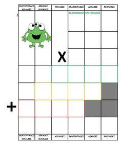 algebra - ΠΡΩΤΟ ΚΟΥΔΟΥΝΙ Algebra, Maths, School, Character, Kids, Young Children, Boys, Children, Lettering