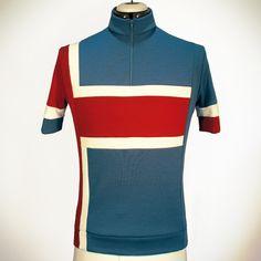 Cima Coppi Bradley Cycling Jersey. Merino Wool.