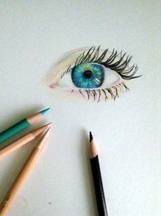 How To Draw An EYE - 40 Amazing Tutorials And Examples - Bored Art