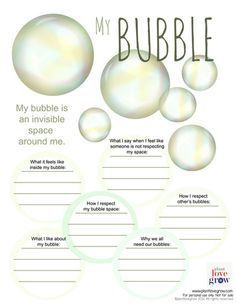 Self care - My Bubble - visualization & alternative thinking strategy for Anxiety & Stress (CBT, DBT, Meditation,Mindfulness)