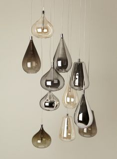 The Design Walker — Smoke Nadine Cluster pendant from BHS Cool Lighting, Modern Lighting, Lighting Design, Direct Lighting, Modern Lamps, Luxury Lighting, Industrial Lighting, Lighting Ideas, Industrial Style