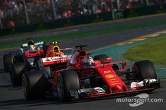 The 2017 Australian Grand Prix in pictures. F1 2017, Australian Grand Prix, Albert Park, Formula 1, Ferrari, Racing, Pictures, Image, Running
