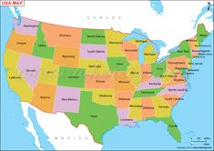 San Francisco Location Map Us Map Or Map Of United States Of America Shows 50 Usa Staes States Bounday