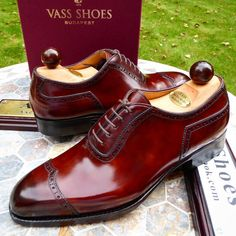 Ascot Shoes — A pair leaving for Hong Kong tomorrow. The Gold...