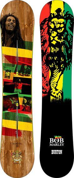 Bob Marley x Burton Whammy Bar Snowboard • Highsnobiety