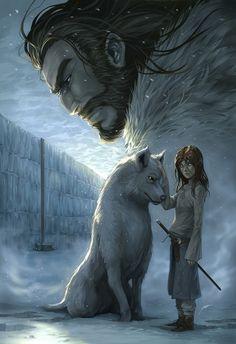 Eddard & Arya #StarkHouse #GameofThrones