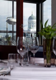 Helsinki recommendation Restaurant Savoy - great food, great service, great wine, and great history. Finland Food, Helsinki, Wine Cellar, Capital City, White Wine, Architecture, Gallery, Glass, Beautiful